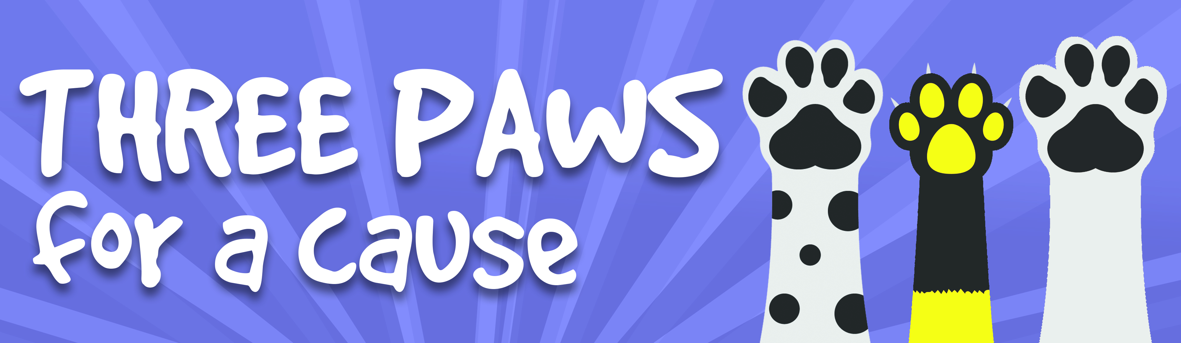 Three Paws For A Cause